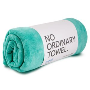 Wovi towel sea green