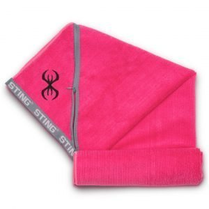 Buy Microfibre Towel Pink by Sting Sports Online at Gym Ready - Australia