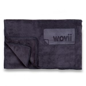 Buy Sports & Hand Towel in Charcoal by Wovii Online at Gym Ready - Australia