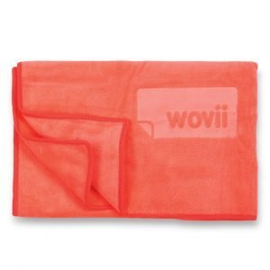 Buy Sports & Hand Towel in Coral Crush by Wovii Online at Gym Ready - Australia