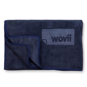Buy Sports & Hand Towel in Navy by Wovii Online at Gym Ready - Australia