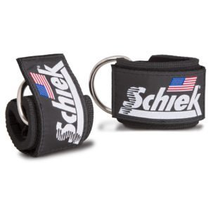 Schiek ankle straps - gym ready