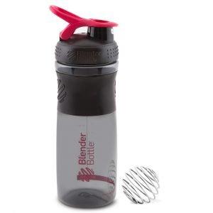 Buy Sport Mixer Shaker Bottle 825ml Pink by Blender Bottle online - Gym Ready - Australia