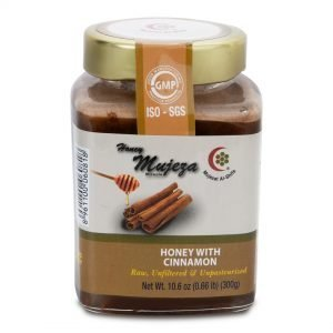 Honey with Cinnamon 300g by Mujeza Online - Gym Ready Australia