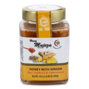 Honey with Ginger 300g by Mujeza Online - Gym Ready Australia