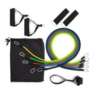 Resistance Bands Set of 11 by Fit Bands Online Gym Ready Australia