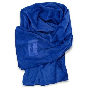 Standard Wovii Towel Pipeline Blue by Wovii Online - Gym Ready - Australia