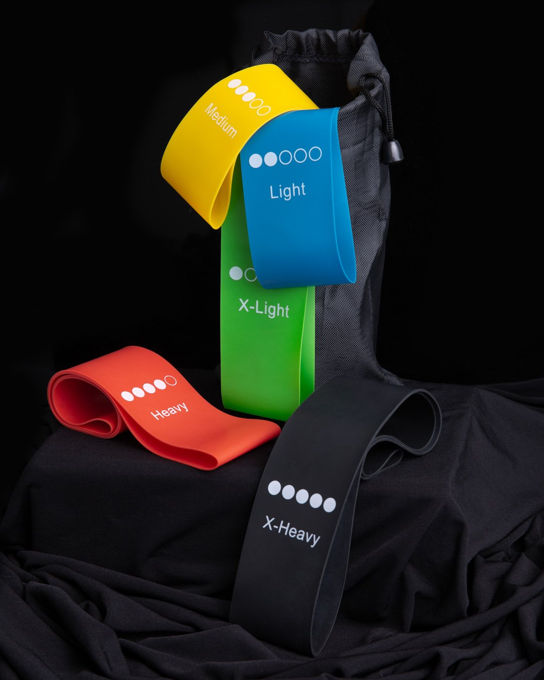 Buy resistance bands set and carry bag online Australia - Gym Ready