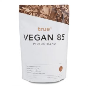 Vegan Protein 1kg Salted Caramel by True Protein Online - Gym Ready - Australia