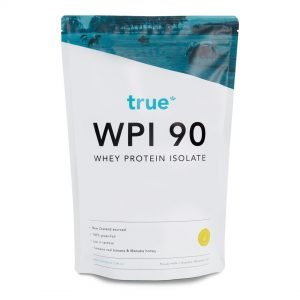 Whey Protein Isolate 1kg Banana & Honey by True Protein Online - Gym Ready - Australia