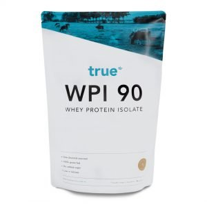 Whey Protein Isolate 1kg Raw Coconut by True Protein Online - Gym Ready - Australia