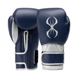 Predator Boxing Gloves in Navy & Silver by Sting Sports Online - Gym Ready - Australia