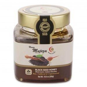 Buy Black Seed Honey 300g by Mujeza online at Gym Ready - Australia